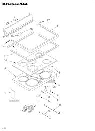 kitchenaid range wiring diagram auto electrical wiring diagram kitchenaid kerc507hwh3 electric range timer