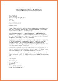 Application Letter Civil Engineer Cover Internship Sample