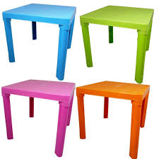 Plastic Table Chair Set Furniture Inspirative Eco Friendly Wooden Children Table And