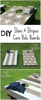 Cornhole Board Design Ideas Stars Stripes Corn Hole Boards Cornhole Boards Diy Wood