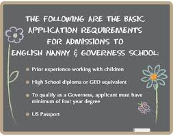 applying for nanny jobs english nanny governess school nanny jobs education nannies
