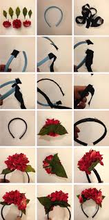 make a frida kahlo fl headpiece