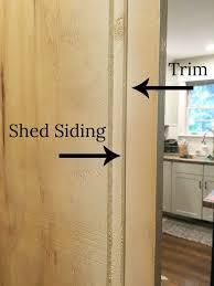 how to make an inexpensive barn door