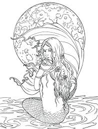 Mermaid Coloring Pages Pdf Coloring Pages For Kids Mermaid Luxury
