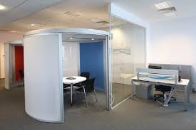 internal office pods. Image Of Premier Farnell European Call-centre Refurbishment Office Pod And Administration Desk With Slat Internal Pods
