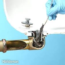 best way to unclog a bathroom sink slow draining bathroom sink adorable 4 ways to unclog