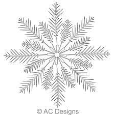 Evergreen Snowflake 2   AC Designs   Digitized Quilting Designs & Digital Quilting Design Evergreen Snowflake 2 by AC Designs. Adamdwight.com