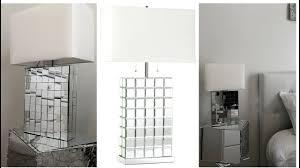 mirrored lighting. Home Decor DIY 💕 Mirrored Table Lamp Lighting R