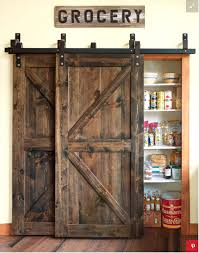 the sliding barn doors i dream about putting them everywhere i love the look of this pantry lglimitlessdesign