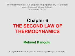 Chapter 6 THE SECOND LAW OF THERMODYNAMICS - ppt download