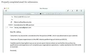 How To Send Resume Format To Send Resume Best Of Sample Email For