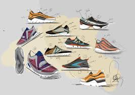 Image Behance Creation My First Footwear Design Sketches With The Previous Study Able To Assist In The Process From Start To Finish Research Trend Analysis San Jose State University Piotrek Pérez Branding Footwear Design Industrial Design
