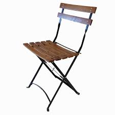 French Metal Folding Chairs