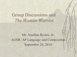no w rdquo and rhetorical strategies mr josefino rivera jr group discussions and the w warrior mr josefino rivera jr aosr ap