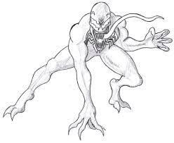 Venom, Spiderman Enemy Coloring Pages Printable - Womanmate.com