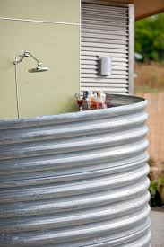 stocking your outdoor shower