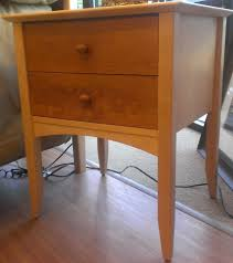 Natural Maple Bedroom Furniture Enchanting Natural Maple Nightstand Alluring Home Design Trend