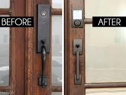 front door handle update