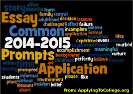 common application essay prompts applying to college 2014 2015 common application essay prompts