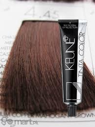 Keune Hair Colour Chart Keune Tinta Color Medium Copper Mahogany Brown 4 45 Hair