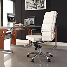 classy modern office desk home. Cozy Eames Chair For Interior Home Decorating: With White Ceramic Flooring And Black Wall Paint Also Some Picture Frame Plus Small Windows Classy Modern Office Desk