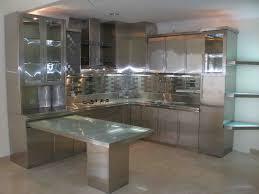 Stainless Steel Kitchen Designs Kitchen Stainless Steel Kitchen Cabinets With Elegant Kitchen