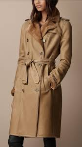 burberry long shearling lined trench coat 38405501 001 iluxdb