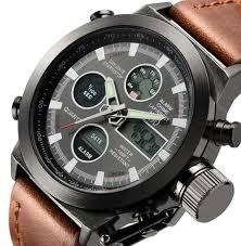 swisskart luxury men digital led quartz outdoor sports watches
