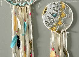 Dream CatchersCom How to Make DIY Doily Dream Catchers Tinsel Wheat 38
