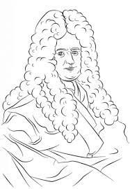 Gottfried Wilhelm Leibniz Kleurplaat Gratis Kleurplaten Printen