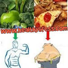 Junk Food Chart Healthy Foods Vs Junk Food Healthy Food Vs Junk Food Chart