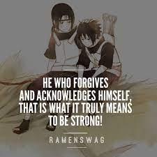 Itachi-kun ♥ ♥ ♥ ~RamenSwag - Naruto Shippuden Quotes