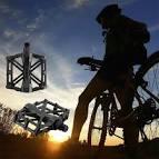 <b>1pair Bike Pedal Aluminum</b> alloy Bicycle Flat Pedal MTB Cycling ...