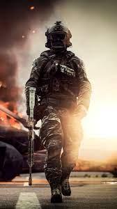 1080x1920 Battlefield 4 Solider 4k ...