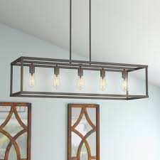 laurel foundry modern farmhouse cassie 5 light kitchen island in lighting for prepare 9