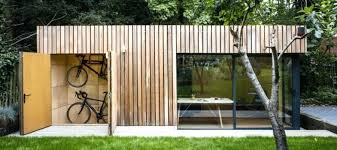 outside office shed. Backyard Shed Office View In Gallery With Bike Storage Inside Outside . R