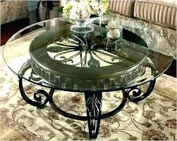 glass and iron coffee table wrought iron coffee table with glass top picture glass and iron