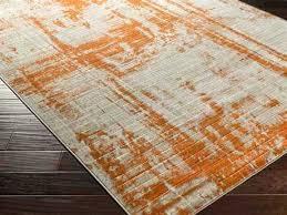 rectangular light gray burnt orange area rug and brown bathroom rugs