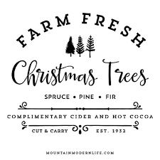 ✓ free for commercial use ✓ high quality images. Farm Fresh Christmas Trees Svg File Fresh Christmas Trees Christmas Svg Files Christmas Svg