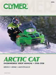 clymer service manual arctic cat z440 zl440 zl500 zr440 zr580 clymer repair manual for arctic cat cougar deluxe mountain cat 2 up