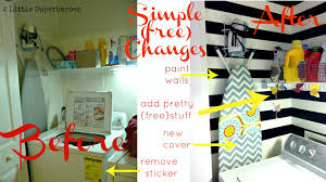 Simple Laundry Room Makeovers Simple Laundry Room Makeovers Creeksideyarnscom