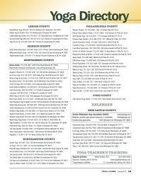 yoga directory yoga living magazine