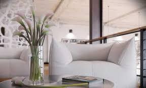 Modern Loft Living Spaces Blending Organic Design and Industrial