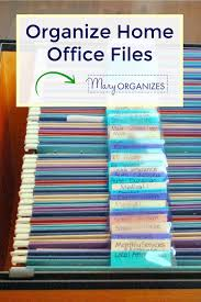 organize office. Organize Home Office Files Paper Management