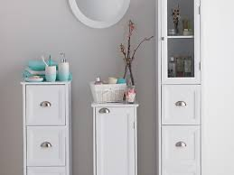 White Small Bathroom Storage Cabinets Take Advantage Of Small