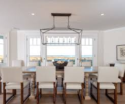 beach house chandeliers dining room beach with
