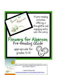 best flowers for algernon images flowers for flowers for algernon pre reading guide