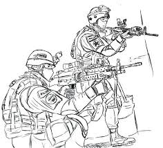 Army Coloring Pages Edge Soldier Coloring Pages Army Color Best