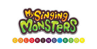 Small Picture My Singing Monsters Coloring Book Big Blue Bubble Old and New