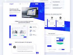 App Faq Design Landing Page Redesign For Saas Platform Web Design